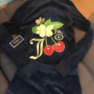 Juicy couture shorts tracksuit set! Jacket NWT!